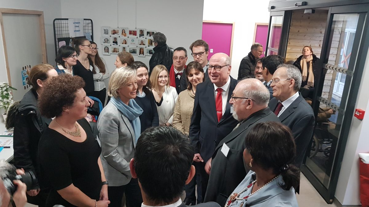 Inauguration des nouveaux locaux du SSAD des Molières – 25 janvier 2018