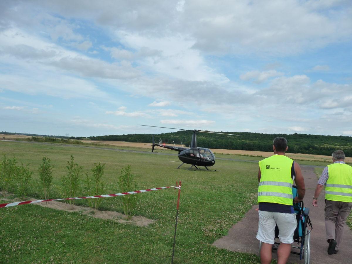 Baptême en hélicoptère du 24 juin 2017