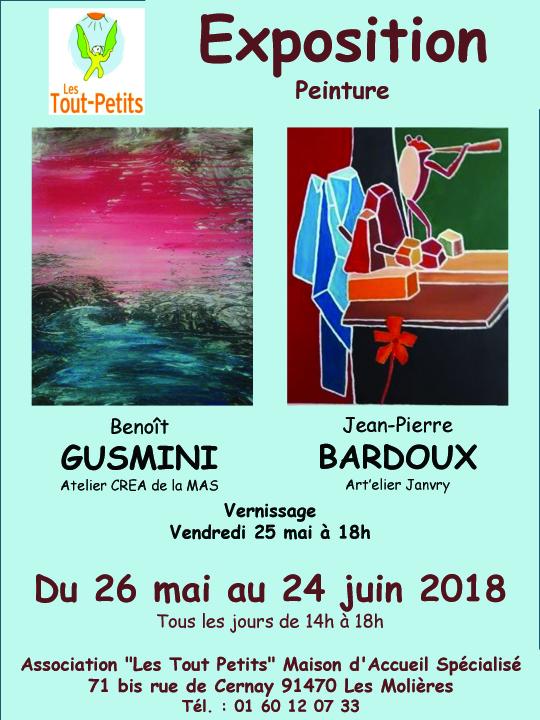 Vendredi 25 mais verdnissage à la MAS des Molières exposition jusqu'au 24 juin 2018