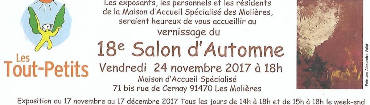 18° Salon d'Automne à la M.A.S. des Molières
