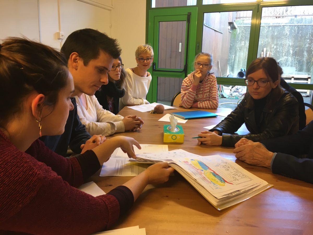 L'EMP a la visite de la Députée des Yvelines – Aurore Bergé