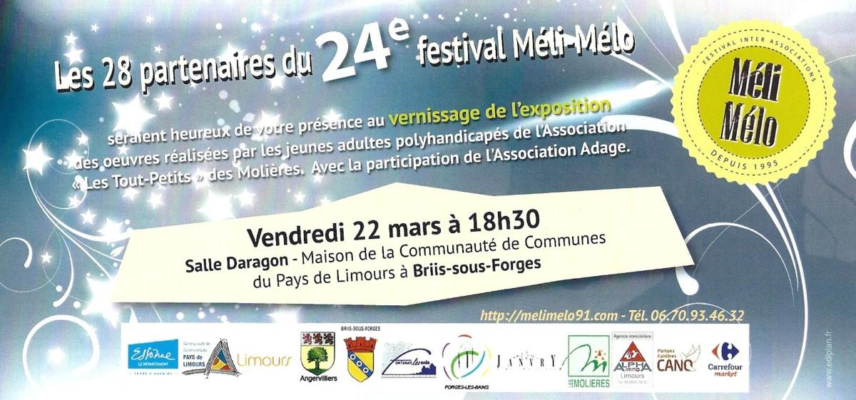 Vendredi 22 mars 2019 : 24ème Festival Méli-Mélo