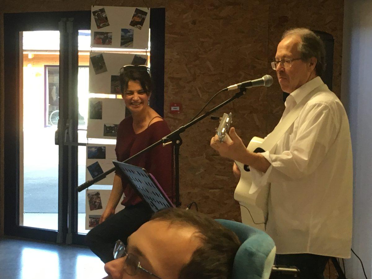 Concert de chansons françaises à la M.A.S.