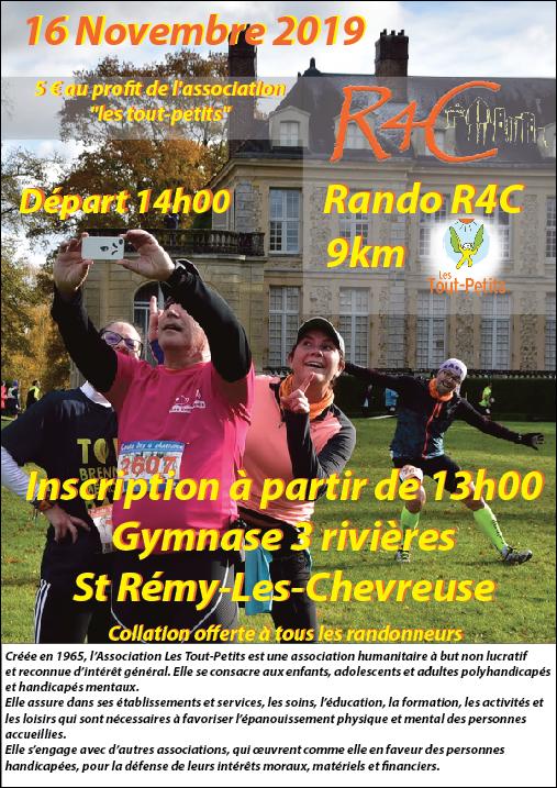 Rando R4C de Saint-Rémy-Les-Chevreuses